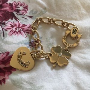 Juicy couture gold bracket